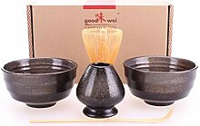 Goodwei Matcha-Set Duo mit zwei Schalen und