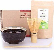 Goodwei Matcha Tee Starter-Set mit japanischem Bio