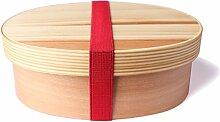 Goodwei Wappa Bento Box - Brotdose aus Zedernholz