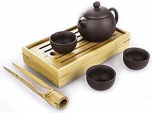 Goodwei Yixing Tee-Set aus Zisha-Ton - Teekanne