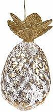 Goodwill Ananas Glas Ornament Christbaumschmuck