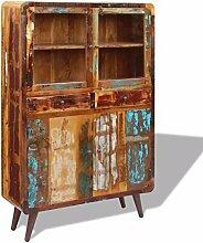 GoodWork4UEu Sideboard Recyceltes Massivholz