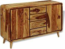 GoodWork4UEu Sideboard Sheesham Holz 140×40×87