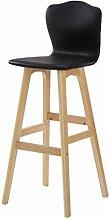 Goooodrry Stühle Massivholz Küchenhocker Hocker