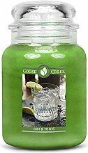 Goose Creek Kerze Gin & Tonic Groß Glas 24oz