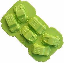 GOOTRADES Mini Auto Silikonform Fondant Kuchen Schokolade Dekorieren Backen Werkzeuge Form Zufällige Farbe - 10 Stk