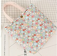 GOOTUOUOU Ice Cream Thermal Insulated Lunch Bag