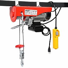 Goplus 1320 lbs Mini Electric Wire Hoist Remote Control Garage Auto Shop Overhead Lift by Goplus