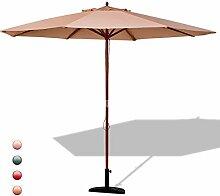 GOPLUS Sonnenschirm Balkonschirm Gartenschirm