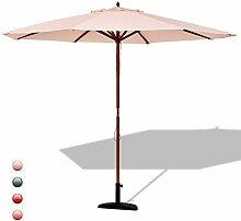 GOPLUS Sonnenschirm Gartenschirm Marktschirm