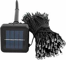 Gosear 200 LED 22 m Solar Powered String Märchen Lichter für Hallenbad Outdoor Garten Weihnachten Hochzeit Partei Cool weiß