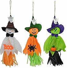 Gosear 3 Stk 3 Stile Vivid Styling Halloween Hängen Ghost Haunted Haus Escape Horror Halloween Dekoration Props