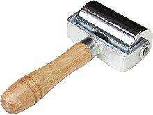 Gosear DIY Leder Handwerk Werkzeuge kleben Laminieren Roller Leder Rand Creaser glatter Leder Werkzeuge