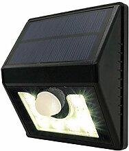 Gosear Hell Solar Mit Strom versorgt Wasserdicht 8 LED Sicherheit Bewegung Sensor Licht für Terrasse Deck Hof Garten Einfahrt Im freien mit 3 Licht Modi Bewegung Aktiviert Auto