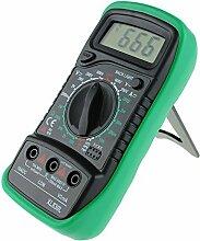 Gosear Portable Handheld Digital Multimeter Xl830l Modell Voltmeter Amperemeter Messung Tester mit Hintergrundbeleuchtung LCD Anzeigen Bildschirm