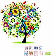 Gosear Saison Baum DIY 5D Diamond Strass Malerei Stickerei Cross Stitch Bild Für Startseite Wand Dekor DIY Weihnachten Geburtstag Geschenk D