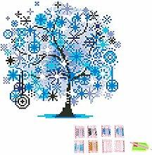 Gosear Saison Baum DIY 5D Diamond Strass Malerei Stickerei Cross Stitch Bild Für Startseite Wand Dekor DIY Weihnachten Geburtstag Geschenk C