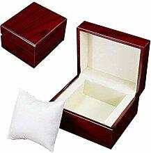 GossipBoy Premium Glossy Uhrenbox Holz / Armband