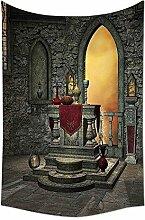 Gothic Decor Tapisserie Alte Altar Heilige Tisch