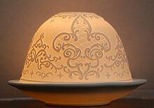 Gotik Geschenkset Fleur de Lis Teelichthalter