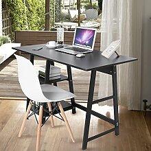 GOTOTOP Computertisch Schreibtisch Laptoptisch