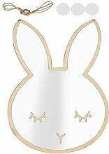 GOTOTOP Cute Rabbit Cloud Removable Spiegel