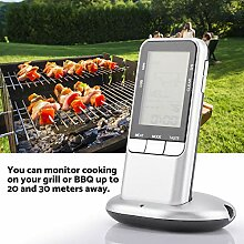 GOTOTOP Digitales Grill-Thermometer, digital,