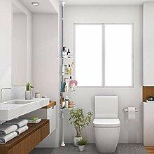 GOTOTOP Duschablage, 4 Ebenen, Badezimmer,