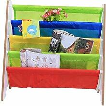 GOTOTOP Kinder Bücherregal, Hölzern Lagerung