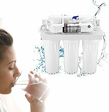 GOTOTOP Wasserfiltersystem, 3 + 2 Bühne Untertisch Wasserfilter System Home Office Trinken Ultra Filtration Reinigung Wasserfiltersystem