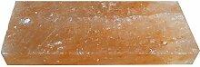 GOURMET Salz-Grillstein Grillplatte 20 x 10 x 5 cm reines Kristallsalz aus der Salt-Range in Pakistan