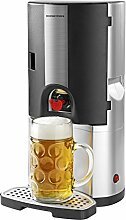 GOURMETmaxx Bierkühler 65W in Silber/Schwarz