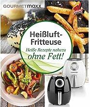 GOURMETmaxx Buch Heißluft-Fritteuse mit 70