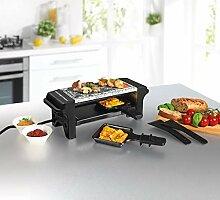 GOURMETMaxx mini Raclette Grill für 2 Personen