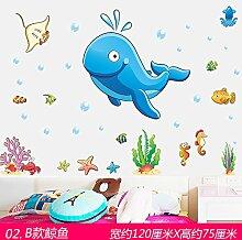 GOUZI Cartoon Fisch Kinderzimmer Kinder Zimmer