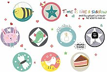 GOUZI Die einfachen Cartoon-CD-Schrank abnehmbare