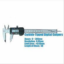 Gowe 0~ Verlaufsfilter Hartmetallbestückt Digitaler Messschieber/Messschieber/Mess-Werkzeug/Instrument mit 0,03mm, Fehler