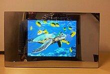 Gowe 26,4cm Spiegel Badezimmer-TV/Wasserdicht