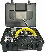Gowe 40m wasserdicht Kanalisation Drain Sanitär Rohr Inspektion testgeräten, Pipeline Tube Inspektion Video Kamera Sensor Größe: 1/10,2cm; horizontale Auflösung: 420TVL; Signal System: PAL
