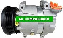 Gowe Auto AC Kompressor für Auto AC Kompressor V5Für Buick 96484932, 96539388, 96246405