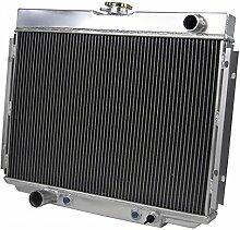 Gowe Auto Ersatzteile Kühlung 3Row Aluminium Racing Radiator für 67–70Fit Ford Mustang 390428429V8in/MT