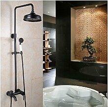 Gowe Badezimmer Wand montiert Badewanne Armatur Regen Dusche Wasserhahn Set mit Handbrause
