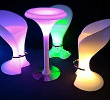 Gowe die New Fashion Wasserdicht Light-Emitting Stuhl, Hohe LED Bar Stuhl Möbel Explosion Modelle Verkauf High Bar Hocker