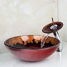 Gowe Hot Melt Waschbecken rund Waschbecken aus