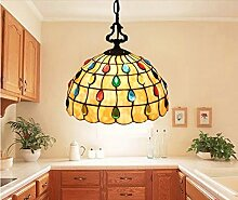 Gowe Kronleuchter bar Anhänger Libelle Lamps Mosaics Dekoration Hängelampe Veranden Bar lustres Pendentes