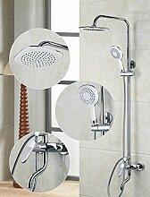 Gowe Luxus 20,3cm Dusche Kopf Dusche Wasserhahn