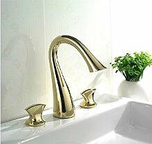 Gowe Luxus Messing Waschbecken Wasserhahn, Swan,