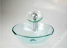 Gowe NEU Hohe Qualität Glas Badezimmer