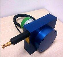 Gowe NPN inkrementelle Draht Ziehen String Encoder SSI profibus-dp Absolute Typ Hubraum Ultraschallmodul Transducer Farbe: RS485