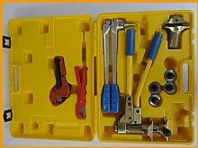 Gowe Pex Werkzeug-Set 16–32mm, für Rehau-Armaturen, für Klempnerarbeiten